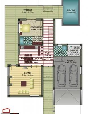 Proiect de casa plan parter
