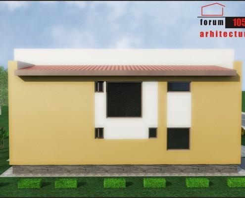 Casa Mărculescu fațada apropiată de gard