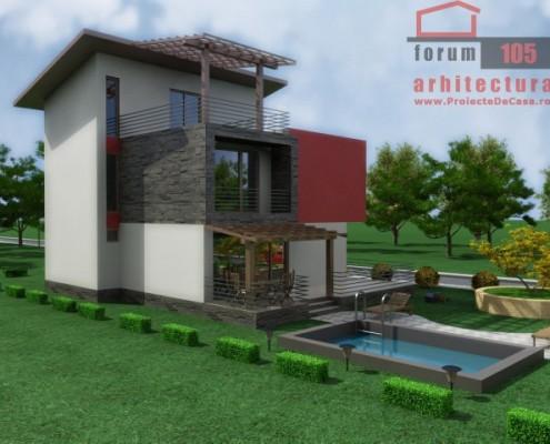 Proiect de casa Ilas