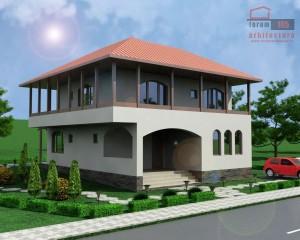 Proiect casa Daciana