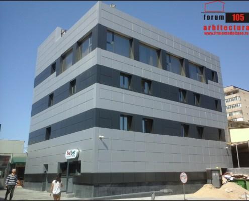 clădire birouri dupa modernizare
