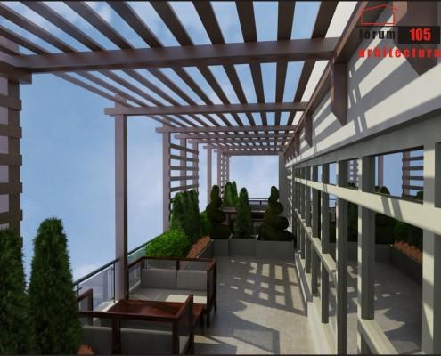 model amenajare terasă