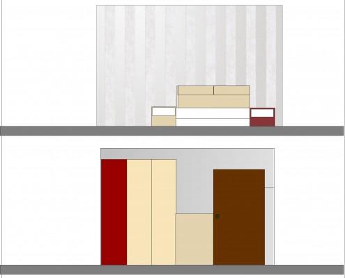 prezentare 2d dormitor