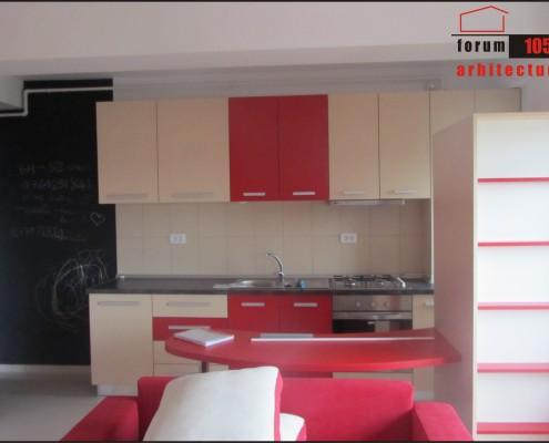 proiect amenajare bucătărie executat