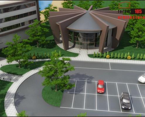 Clădire multifuncțională