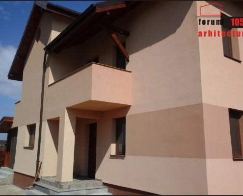 Proiect de casa Jecu la intrare
