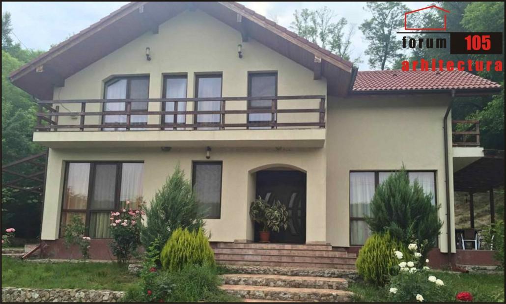 casa rustic realizată
